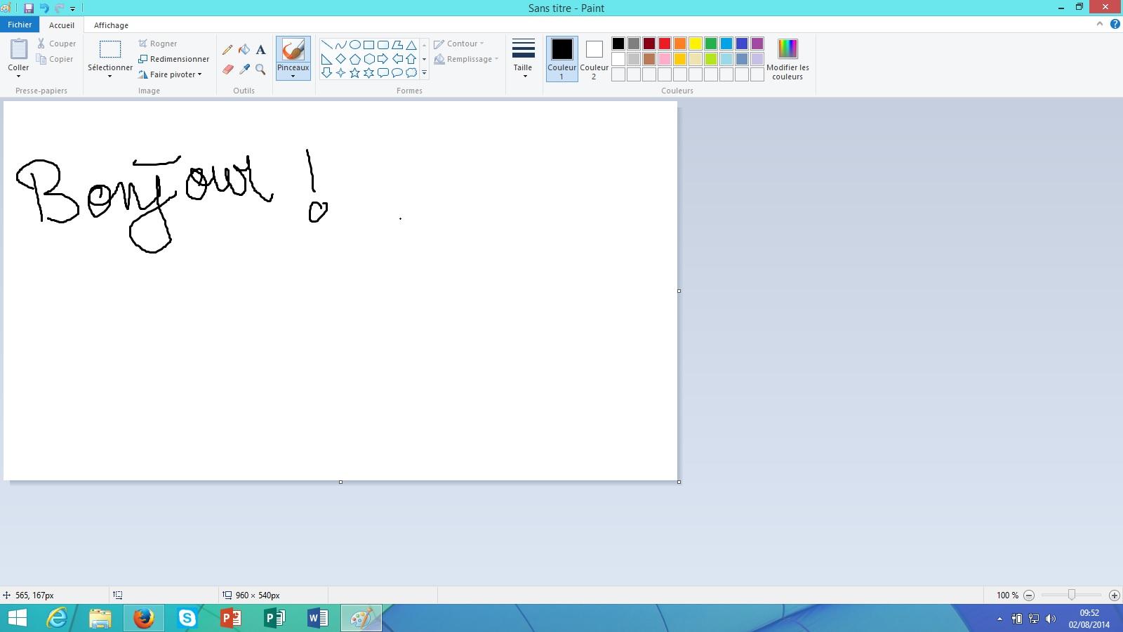 Paint Windows 8 AUTOUR DE WiNDOWS